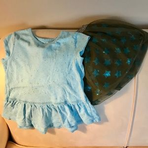 Cat and Jack outfit Size 5T